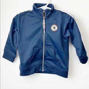 Converse Navy Blue Boys Full Zip Jacket 12 months